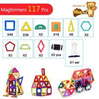 117PCS Similar 3D MAGNETIC TOY Magnetic Block Building Match...