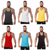 Golds Gym Stringer Tank Top Men Bodybuilding Clothing and Fi...