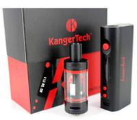 2016 Nuevo kit de arranque mini subox kanger con KBOX Mini Variable Vatio 5W-50W batería Subtank Mini OCC RDA atomizadores Caja de regalo