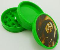 Broyeur plastique 40mm dia 3 parties meuleuse herbes à fumer du tabac Grinder moulin