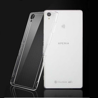 SONY Xperia Z5 Case 0. 6MM Slim Transparent TPU Cases Cover M...
