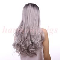 Hair wigs Lace Front Wigs 18inch ombre color chocolate Black...