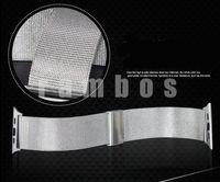Nueva llegada de acero inoxidable de malla milanesa Ver Banda Correa para Apple inteligentes reloj iWatch 42mm 38mm