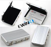 Mini Aluminum Password Briefcase Business Card Case Credit B...