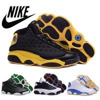 Nike dans 13 Mens basketball shoes XIII RETRO Leather Surfac...