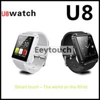 50 With sleep monitor Altimeter U8 Smartwatch Bluetooth Watc...