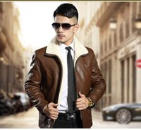 New Warm Leather Jackets for men European Coat Faux Leather ...
