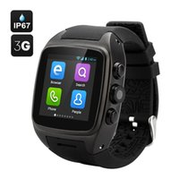 iMacwear M7 3G astuto Watch Phone Android 4.2 MTK6572 Dual Core 1.54quot; Schermo IPS impermeabile IP67 5.0MP Camera P1181
