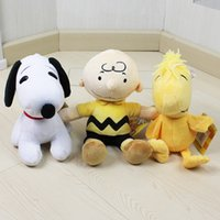 New Peanuts Comics Charlie Brown And Snoopy Plush Toys Dolls...