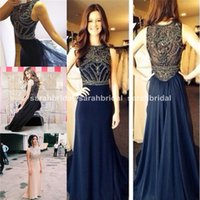 robe de soiree evening dresses 2015 New Sleeveless Scoop Nec...