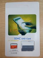 2016 nueva tarjeta de memoria micro de la tarjeta del TF de la tarjeta de la llegada de Class10 EVO 256GB C10 Flash SDHC SDXC blanco anaranjado para la garantía de 12months