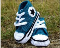 New Infant Baby Shoes Baby Crochet Firstwalker Boots Winter ...