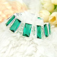 2PCS Lot High Quality Holiday Gift Trendy Square Green Quart...