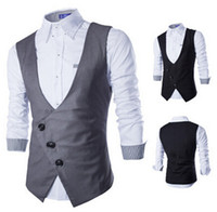 New vest for men 2015 autumn Korean business casual slim fit...