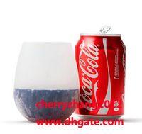 New Design Fashion Unbreakable clear Wine Glass silicone win...