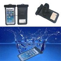 Natación con estilo Bolso transparente impermeable bolsa del caso para el teléfono móvil para Iphone 6 más