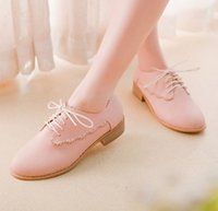 Big Girl Casual Shoes 2015 Spring Ladies Lace England Style ...