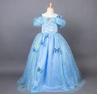 2015 Cinderella Princess Butterfly Sharp Tutu Party Dress Ch...