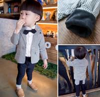 2016 Spring New Gentleman Boys 2pcs Sets Children Clothing P...