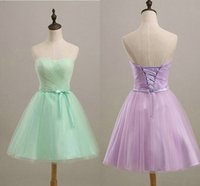 Short Bridesmaid Dresses For Juniors Women Maid of Honor Bea...