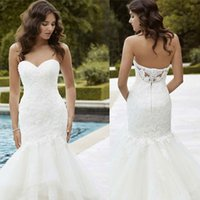 Intricate Stunning Lace Wedding Dresses Delicate Romantic Sw...