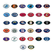 newest FOOTBALL snap button jewelry charm popper for bracele...