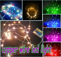 Copper Wire LED String Fairy Light Chistmas Lights Lighting ...
