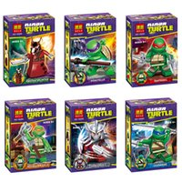 Action Figures Minifigures 6styles a set suit with arms skat...