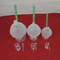 La más nueva taza del starbuck bongs las pipas de agua La mano sopló el bong de cristal que fuma las pipas de agua VS McDonald en la pipa de agua de N OUT