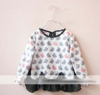 2016 Spring Autumn Girls Long Sleeve Casual Dress Kids Cloth...