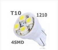 100PCS T10 4SMD Car Led 1210 3528 Wedge Lights DC12v W5W 4LE...