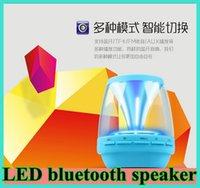 M8 colorful LED Wireless Bluetooth Speakers Speaker phone Ba...
