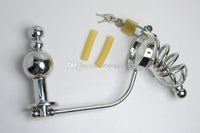 Wholesale - Male Chastity Devices Metal Penis Cock Cage with...