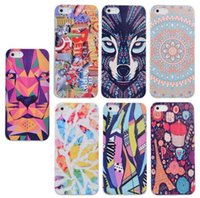 Hot Selling Designs Drawing Back Case Soft Gel TPU Case Cove...