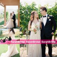 2015 Wedding Dresses For 2016 Beach Garden Bohemian Brides S...