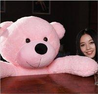 2016 NEW Stuffed Teddy Bear Giant Big Cute  Purple Pink Beig...