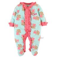 2016 Brand New Baby Girls Rompers Fleece Body Warmer Coral v...