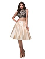 Grace Karin Sexy Two- Piece Short Party Dress Cocktail Homeco...