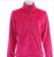 2016 Women Fleece Osito Jacket Fashion Female Pink Ribbon Os...