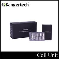 Kangertech convecteur Kanger Bobines de remplacement pour Mini Protank II Evod Verre Réservoir 100% Original