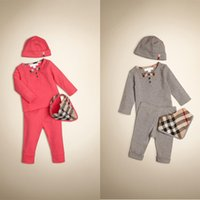 2015 Spring New Brand Baby Clothing Sets 100% Cotton 4pcs To...
