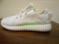Yeezy Boost 350 White Grey Womens Shoes, Men Shoes, Yeezy Boos...