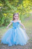 New Arrivals Frozen Girls Party Dresses Children Summer Prin...