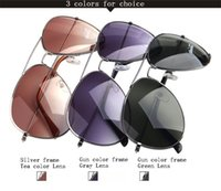 Professional UV400 Sunglasses 4 Colors Metal Frame Cycling S...