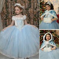 frozen dress 2014 children christmas party dress girls princ...