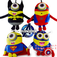 The Avengers Minions Combination Plush Toys Marvel Heros Act...