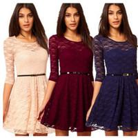 2016 Fashion Summer Lace Dress Women' s casual Bodycon M...