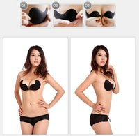 Retail Sexy Women Silicone Invisible Bras Push Up Bra Self- A...