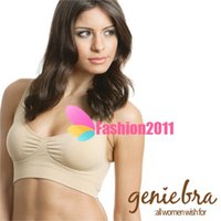 Sexy Seamless sport bra single layer wire free ahh bra seaml...
