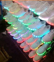 Seven Kinds Of Color light shoes men' s and women' s...